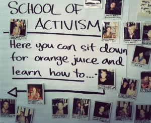 School of activism