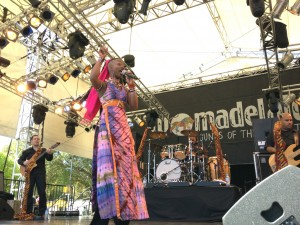 Dobet Gnahoré at WOMADelaide 2012