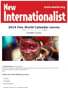 Help us choose photos for the 2014 One World Calendar