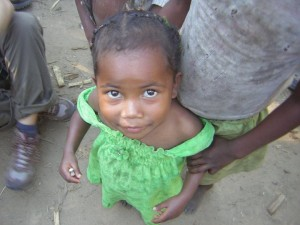 A young Malagasy child