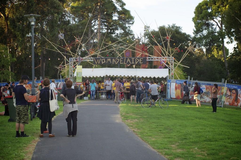 Womadelaide entrance 2012