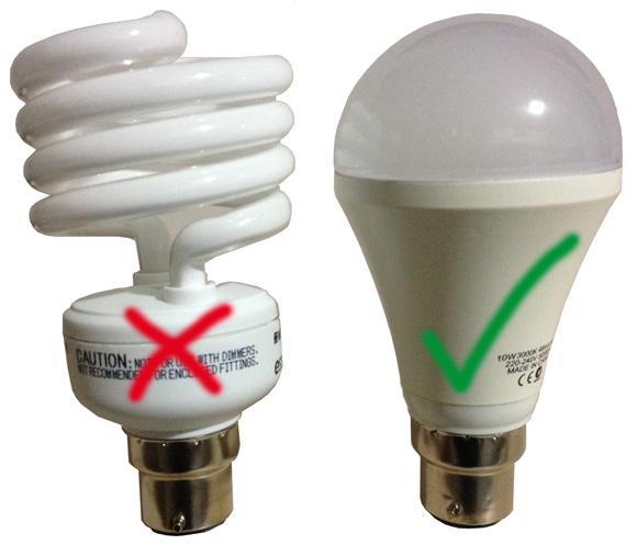 LED bulbs with no mercury