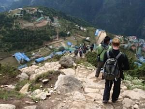 Spectacular walks - Namche
