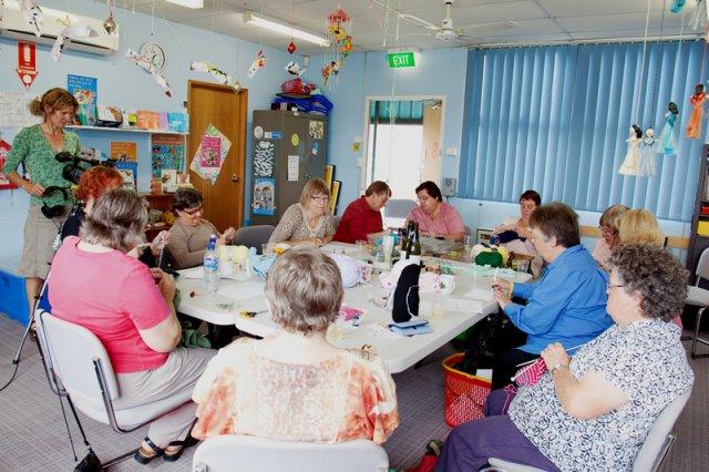 Mary's Knitting Club
