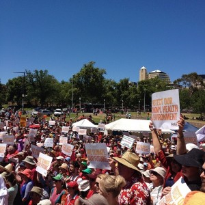 Climate Action Rally