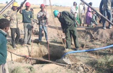 Well-Wishers hand-dug wells
