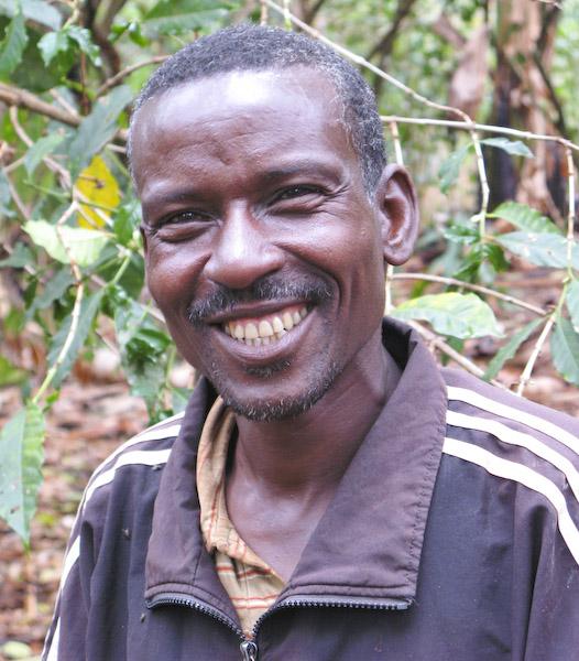 Ethiopian coffee farmer