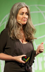Polly Higgins - ecocide campaigner