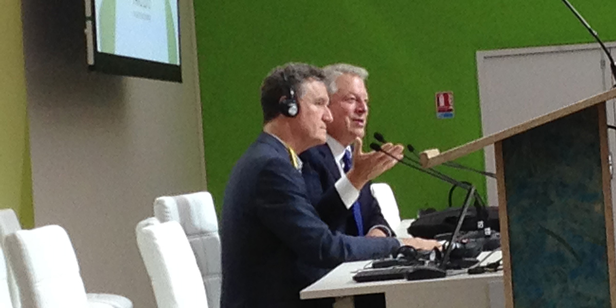 Al Gore & Don Henry at COP21