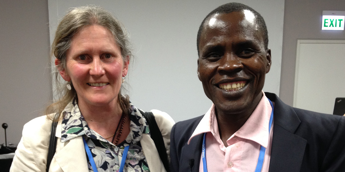 Kisilu with Philippa