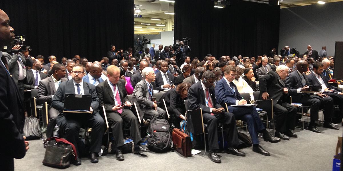 World Bank staff finalising quotes