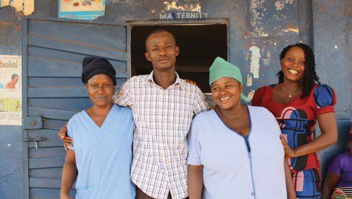 Koindu community clinic
