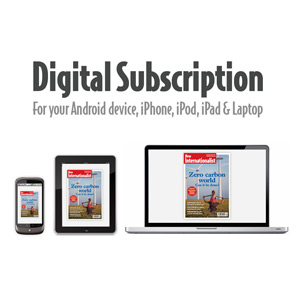 New Internationalist magazine - digital subscription renewal
