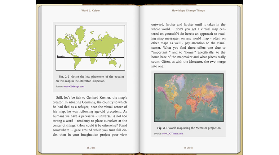 How maps change things ebook download new internationalist notice the low placement of the equator in the mercator projection gumiabroncs Choice Image