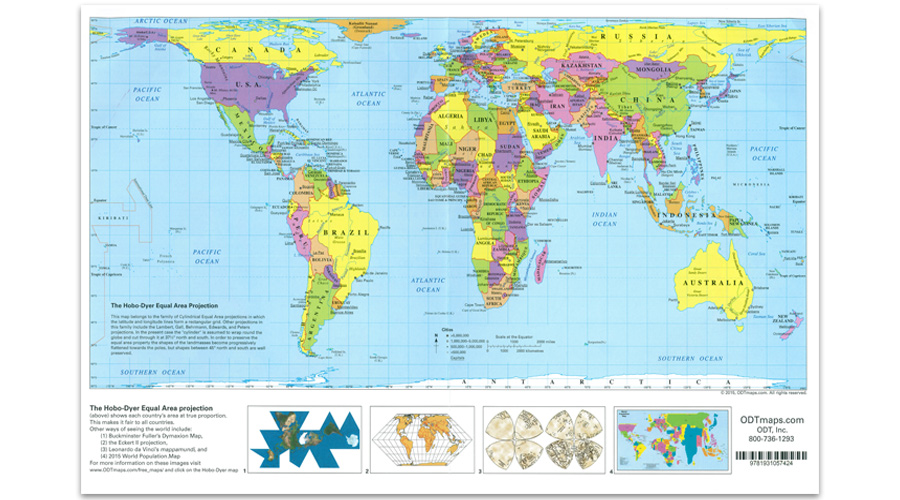 Hobo dyer placemat folded map new internationalist fair trade shop a startling south up version of the map challenges preconceived notions of what is important gumiabroncs Images